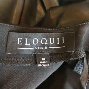 Eloquii Dresses - ELOQUII Leather Like Dress